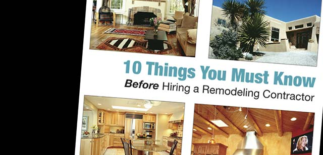 Thinking of Remodeling?